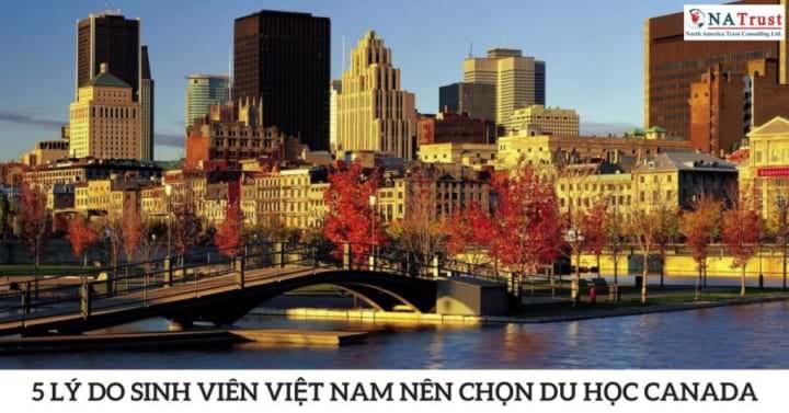 5 LY DO SINH VIEN VIET NAM NEN CHON DU HOC CANADA