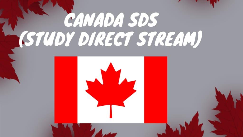 Visa Du Học Canada Diện SDS