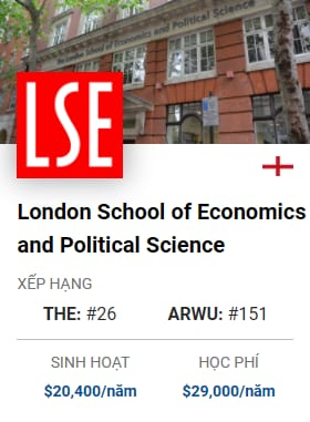 London School Of Economics and Political Science
