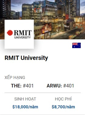 Du Học Úc: RMIT University