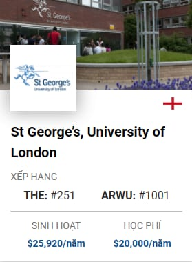 St Georges University Of London
