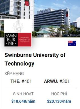 Du Học Úc: Swinburne University of Technology