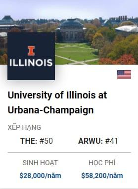 Du Học Mỹ: University of Illinois