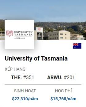 Du Học Úc: University of Tasmania