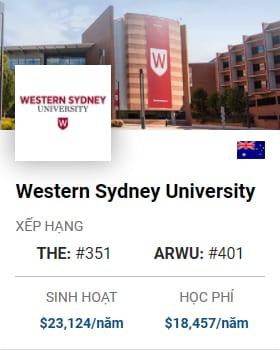 Du Học Úc: Western Sydney University