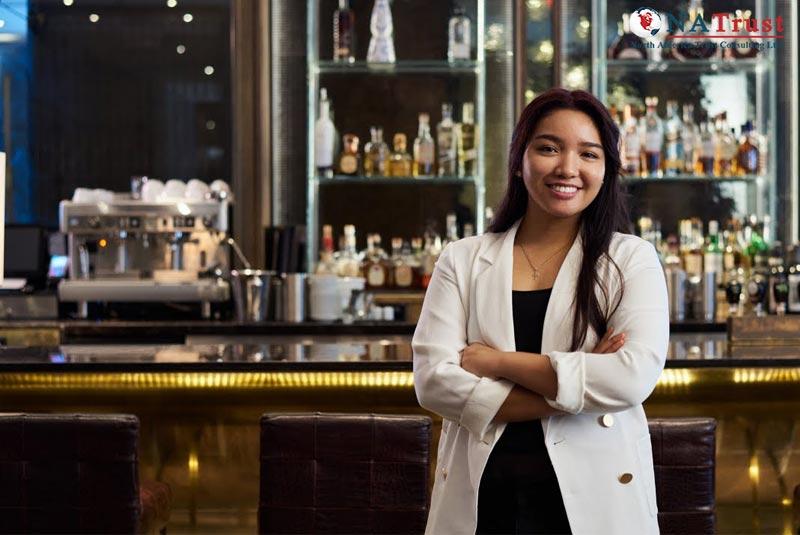 quản trị nhà hàng khách sạn canada