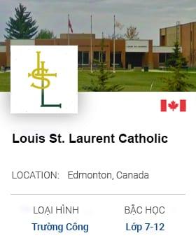 Louis St. Laurent Catholic