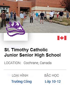 St. Timothy Catholic Junior Senior High School