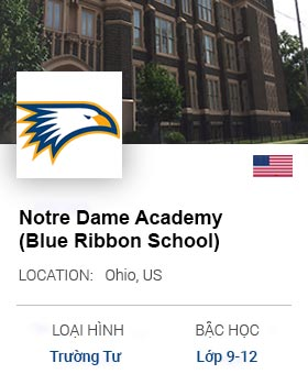 Notre Dame Academy Private Girls Day School Blue Ribbon School