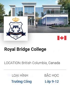 Du Học Canada: Royal Bridge College